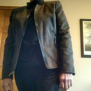 Stylish, dressy jacket or suit jacket.